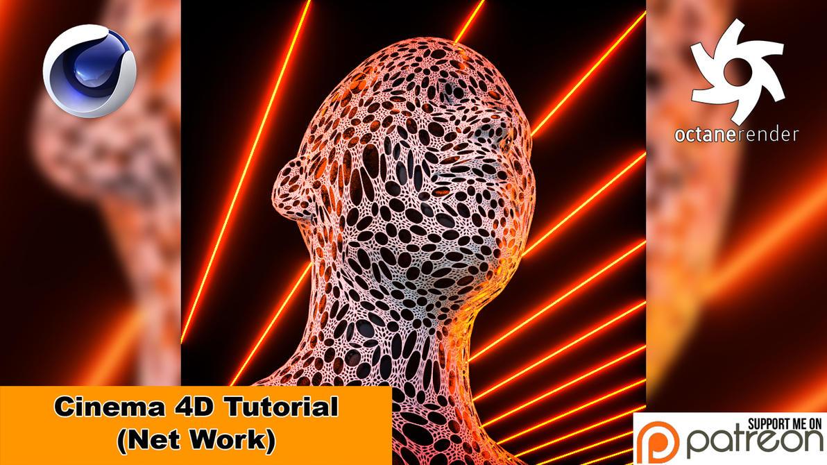 Net Work (Cinema 4D Tutorial) by NIKOMEDIA