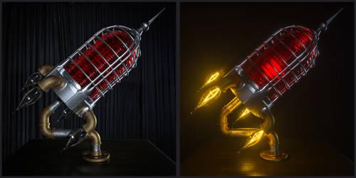 ROCKET LAMP by NIKOMEDIA