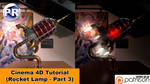 Rocket Lamp - Part 3 of 3 (Cinema 4D Tutorial)
