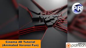 Animated Voronoi Fun (Cinema 4D Tutorial) by NIKOMEDIA