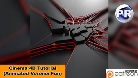 Animated Voronoi Fun (Cinema 4D Tutorial)