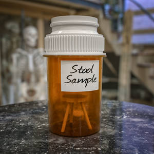 The little different stool sample