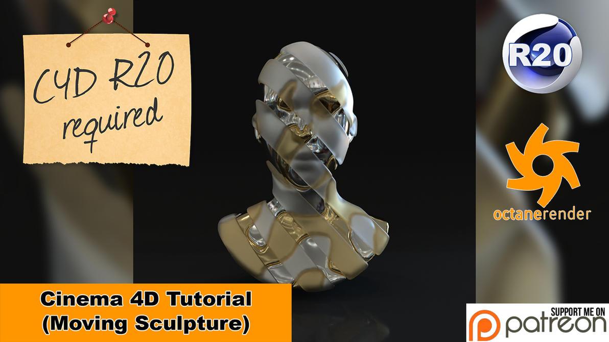 Moving Sculpture (Cinema 4D Tutorial) by NIKOMEDIA