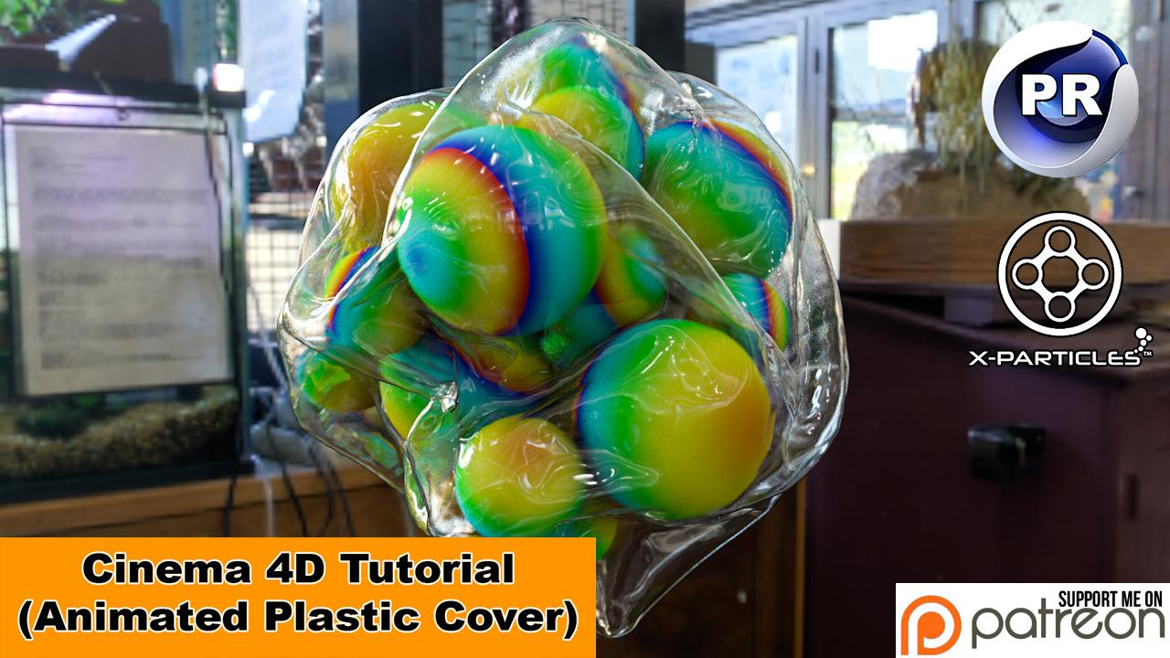Animated Plastic Cover (Cinema 4D Tutorial) by NIKOMEDIA