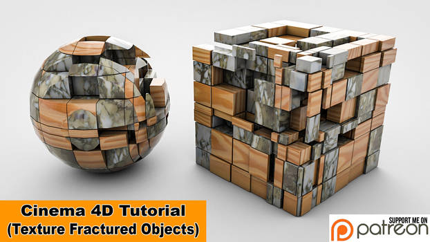 Texture Fractured Objects (Cinema 4D Tutorial)