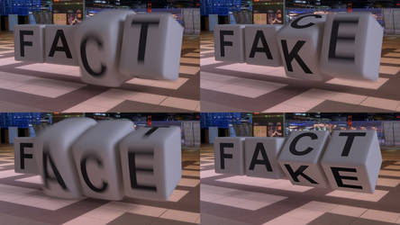FACT OR FAKE (C4D Animation) by NIKOMEDIA