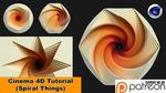 Spiral Things (Cinema 4D Tutorial) by NIKOMEDIA