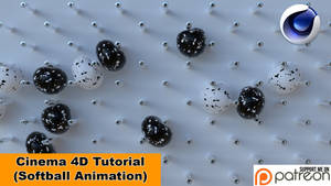 Softballs Animation (Cinema 4D Tutorial) by NIKOMEDIA