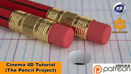 The Pencil Project (Cinema 4D Tutorial) by NIKOMEDIA
