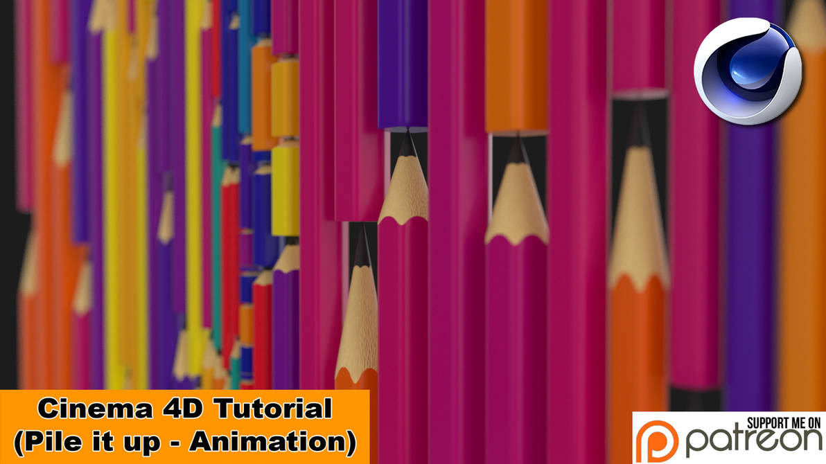 Pile It Up Animation (Cinema 4D Tutorial) by NIKOMEDIA