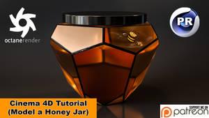Model a Honey Jar (Cinema 4D Tutorial)