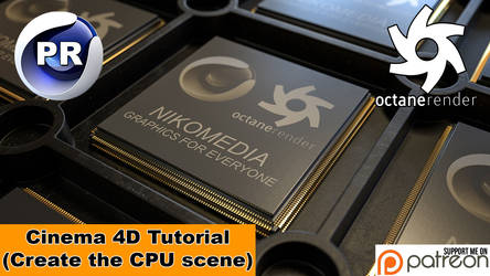 CPU SCENE (Cinema 4D Tutorial)