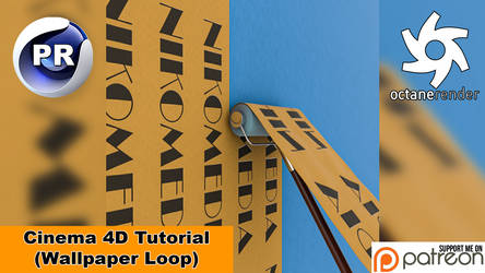 WALLPAPER LOOP (Cinema 4D Tutorial)