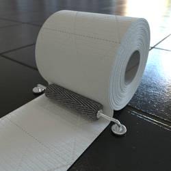 Endless Toilet Paper Loop