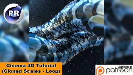 CLONED SCALES (Cinema 4D Tutorial)