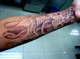 my henna tattoo by alienwurkz