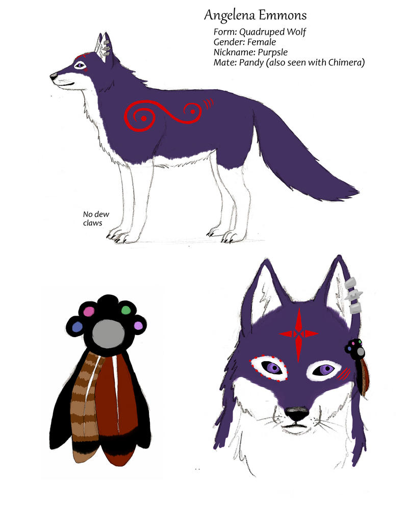 New Purpsle Reference by Soulful-Purple-Wolf