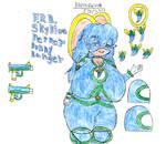 FBR Sky Blue Pepper Bunny Ranger