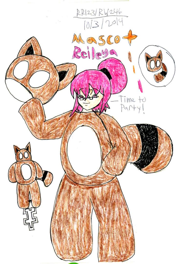 Mascot Reileya (DK) by RedWolf246