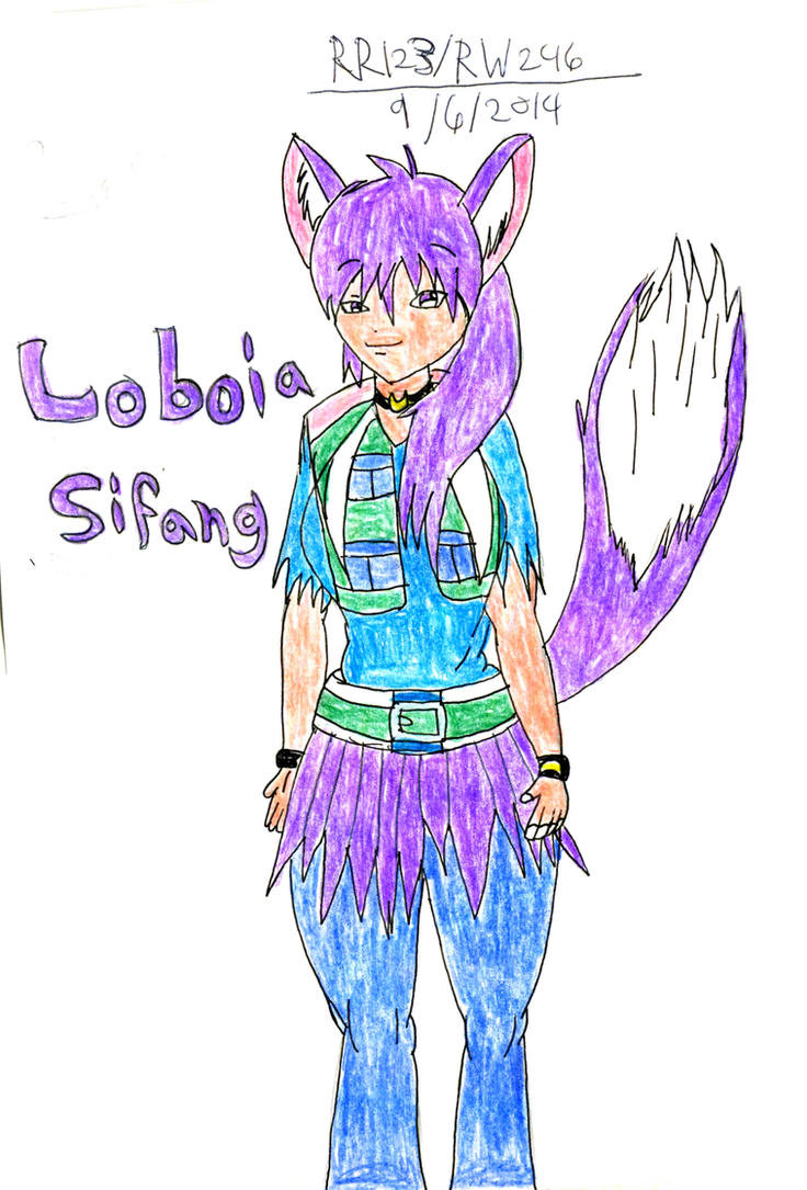 New OC Loboia Sifang by RedWolf246