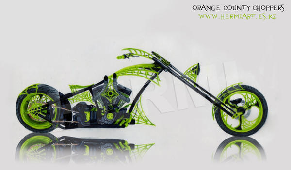 orange county choppers drawing by hermihrz