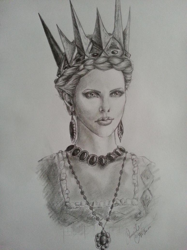 The Witch Queen Ravenna by DaVinciPortraits on DeviantArt