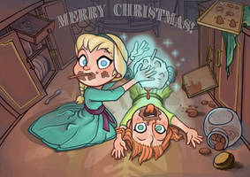 Merry Choco-oolate Christmas! by LZbrothers