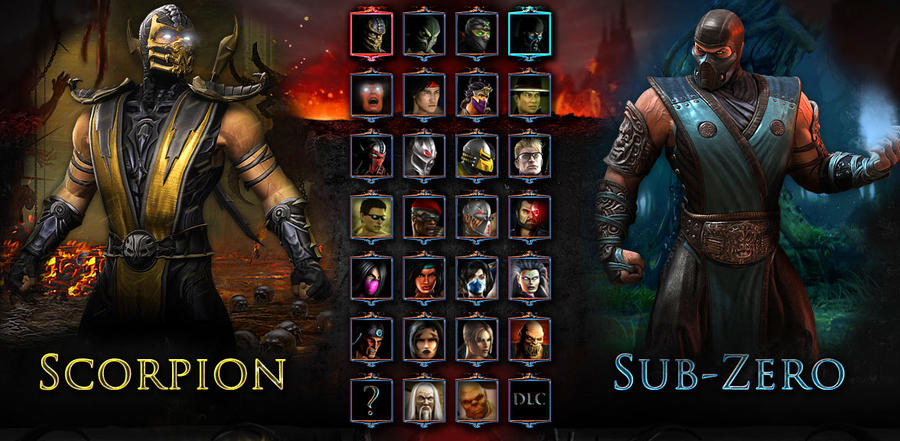 MK characters screen by terminator286 on DeviantArt