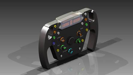 [3D Art] F1 Steering Wheel