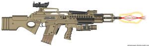 Crytec 57-95AX Rail Carbine