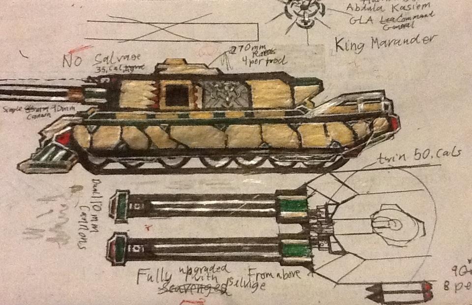 Gen. Kasiem's King Marauder Tank by Lord-DracoDraconis