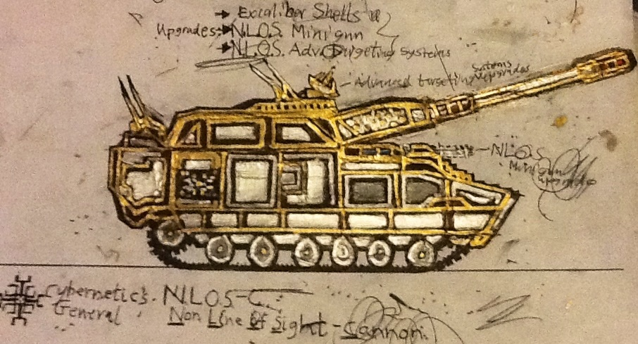 Gen. Ironhand's NLOS-Cannon Artillery by Lord-DracoDraconis