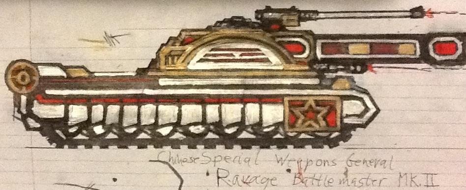 Gen.Leang's Ravage Battlemaster Mk.II by Lord-DracoDraconis
