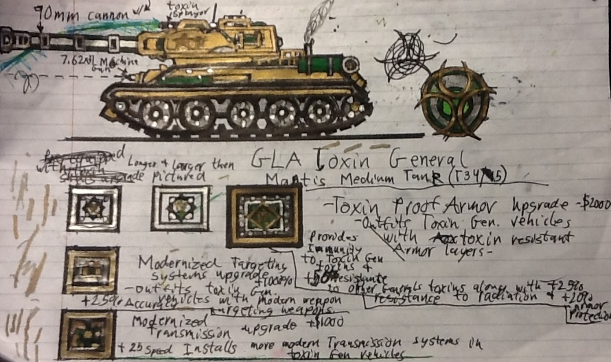 Dr. Thrax's Mantis Medium Tank (T34/85) by Lord-DracoDraconis