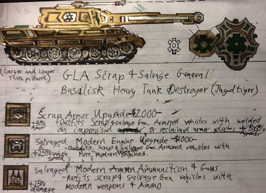 GLA Scrap General's Basalisk Heavy Tank Destroyer by Lord-DracoDraconis