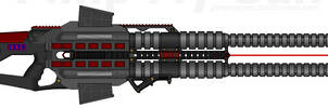 D.I.I. M.T.G.C.-R. 'Shock-Lance' Twin Gauss Cannon