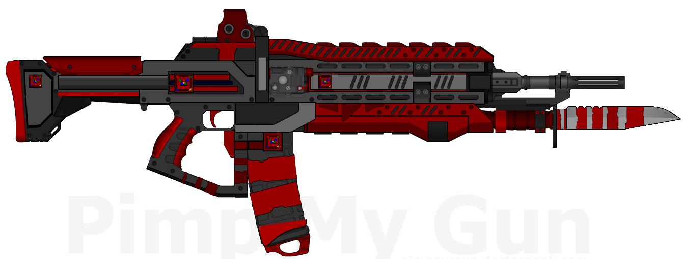 D.I.I. AR-825 'Vengeance' (Destiny-Inspired) by Lord-DracoDraconis