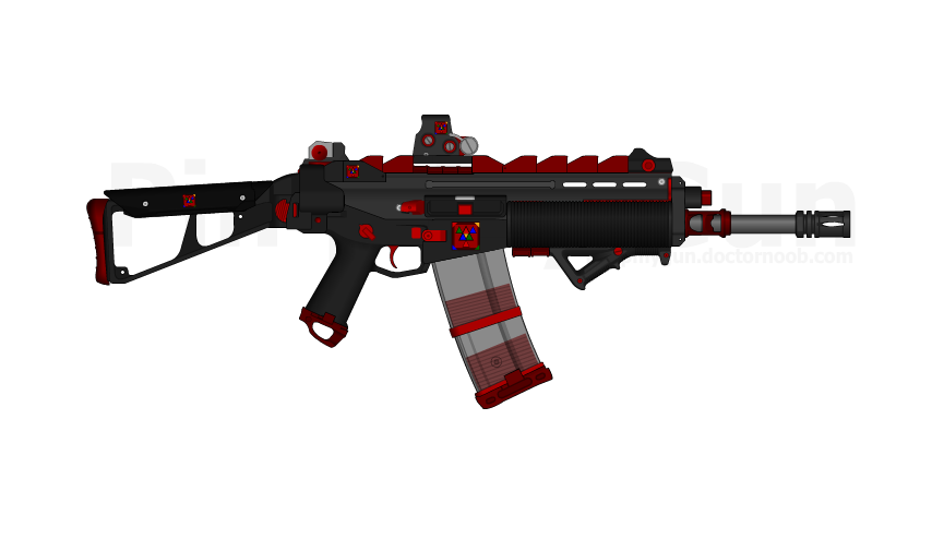 D.I.I. PDW-H.308 by Lord-DracoDraconis
