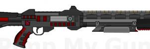 D.I.I. SG055-XR 'Blackout' ArkTek Combat Shotgun