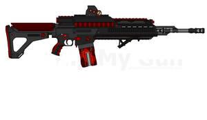 DII MXG-110 Raider Light Machine Gun Mk.II