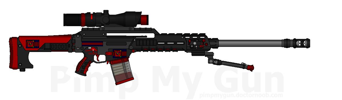 DII DSPR-30X 'Arrow' Designated Spotter Rifle MkII