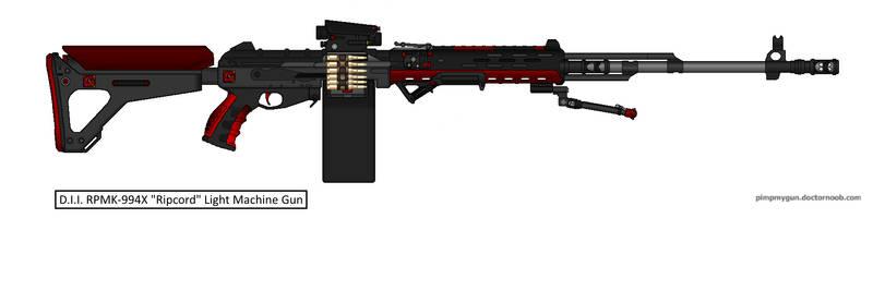D.I.I. RPMK-944X 'Ripcord' Light Machine Gun