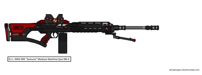 DII XMG-995 'Samurai' Medium Machine Gun Mk.II