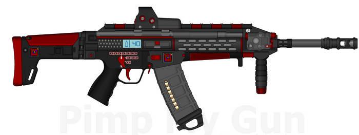D.I.I. LCAR-300S 'Wyrm' Light Combat Assault Rifle