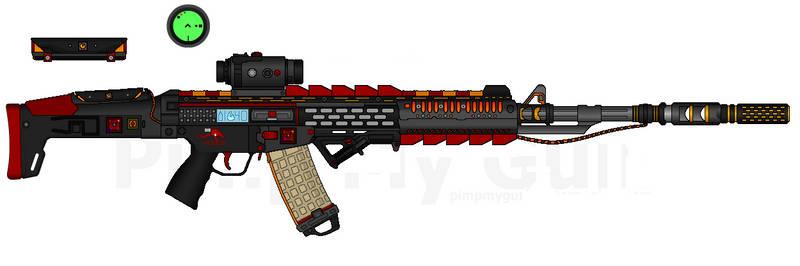 D.I.I. LCAR-450E E.I.C. 'Fire Dragon'