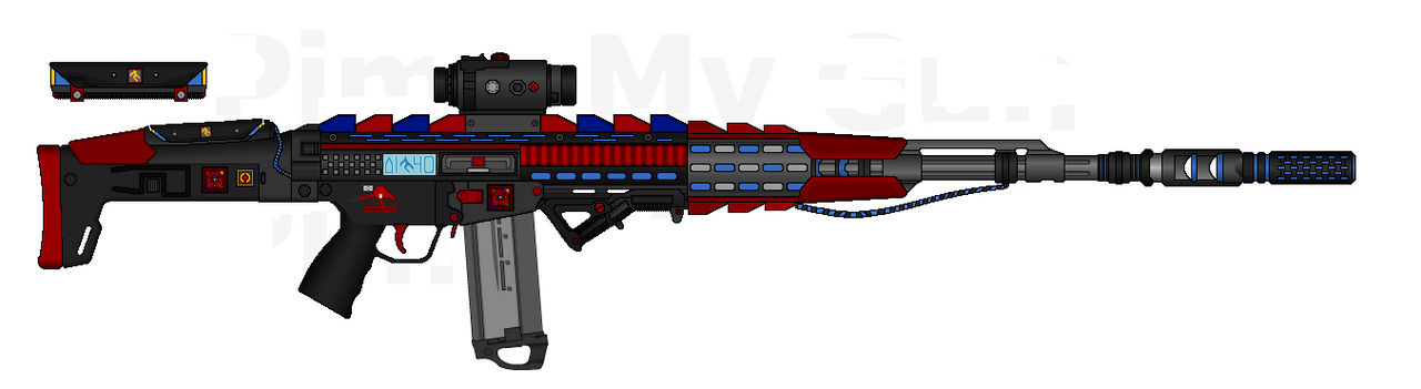 D.I.I. LCAR-500L E.S.C. 'Storm Drake'