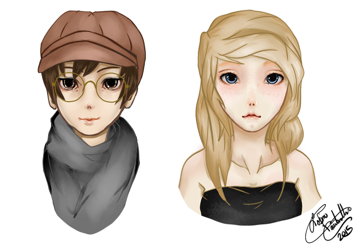 Character design by DexterAnodyne