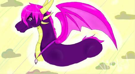 Violet the dragoness