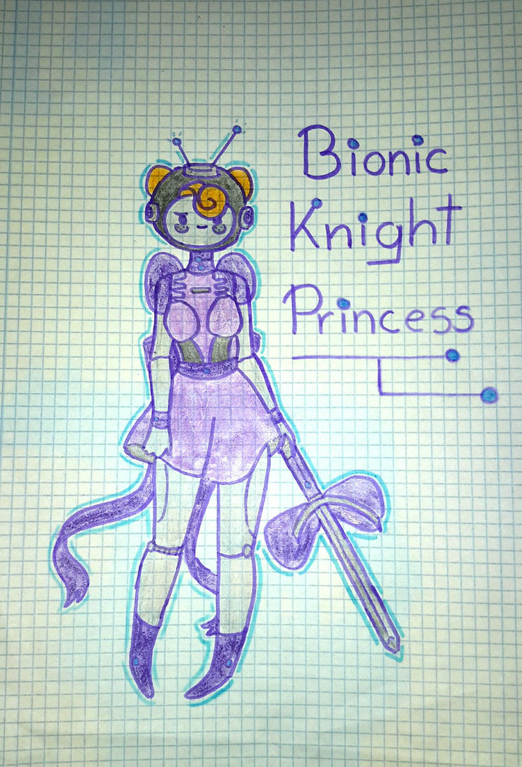 Bionic Knight Princess by popinat