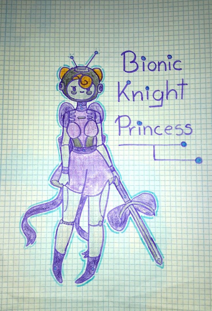 Bionic Knight Princess by popinat
